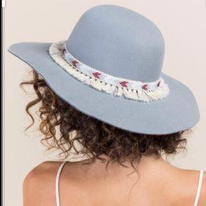 Clayton floppy felt hat